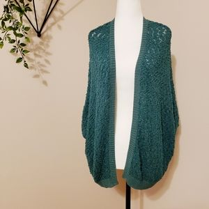 URBAN OUTFITTERS | LIGHT KNIT OPEN FRONT CARDIGAN